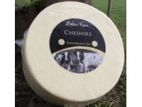 Cheshire is a dense and crumbly English Cheese